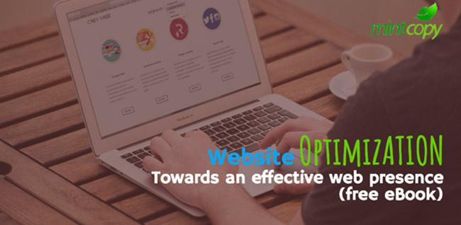 Website optimization e-book. Towards an effective web presence